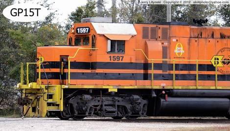 A short-line locomotive