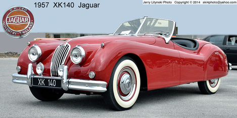 A 1957 Jaguar in great condition