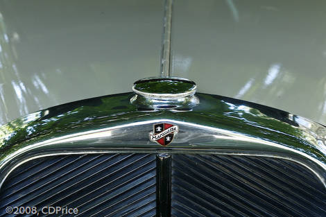 1929 Marquette Badge & Radiator Cap