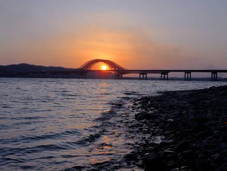 Bridge at Sunset..