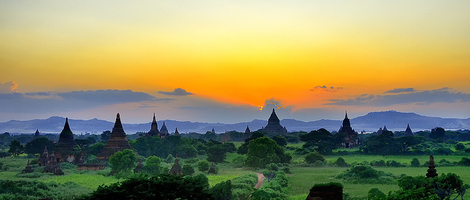 Burma Old City ~ Bagan
