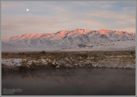Moonrise Over Horseshoe Springs