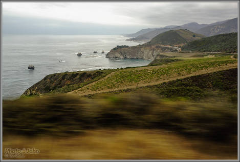 Big Sur From The Bus
