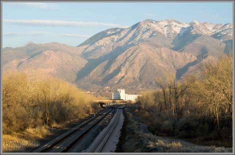 Train Tracks - Ogden, Utah