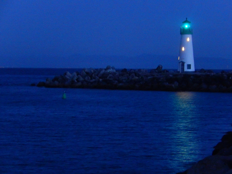 Lighthouse After Dark