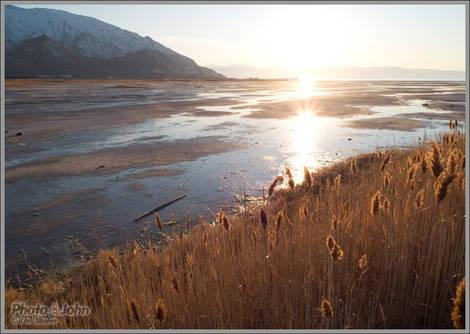 Great Salt Lake Sunset  - Unedited
