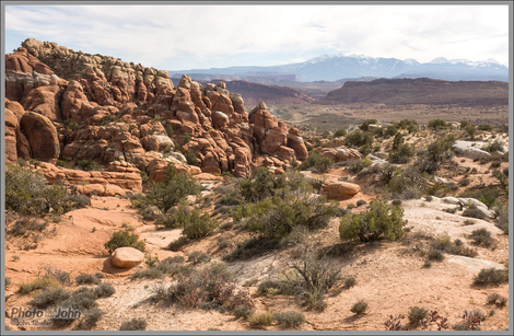 Fiery Furnace Overlook - Arches National Park