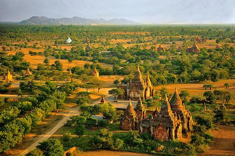 Bagan scenery,Myanmar