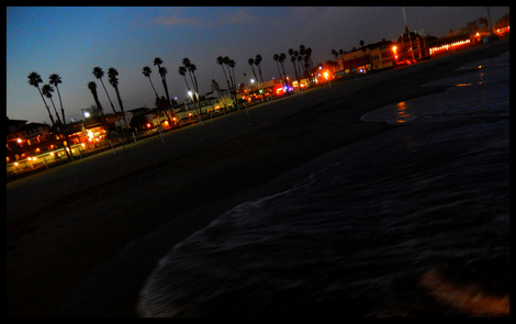 Boardwalk Night Exposure