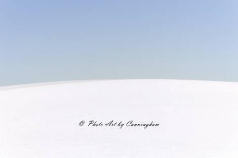 White Sands-Blue Sky