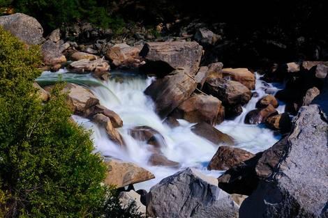 Silk Cascade on the Merced river