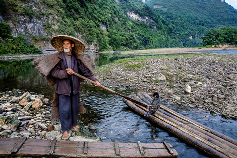 Fisherman at Li river China