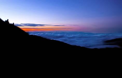 sunrise in mount pulag