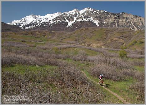 Mountain Biking With Olympus E-520