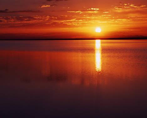 Salt Flats Sunrise