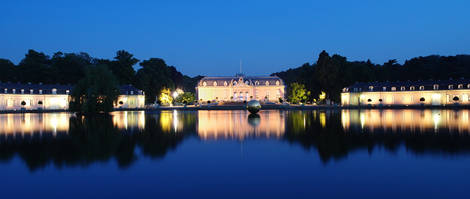 Schloss Benrath in Dusseldorf..