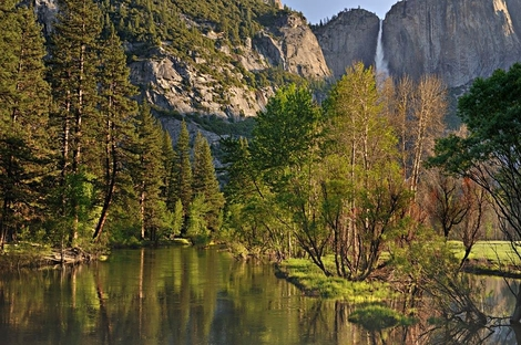 Valley and Yosemite Falls