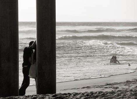boy meets girl (huntington beach, California)