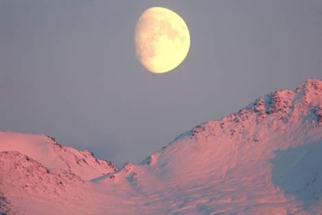 Chugach Moon