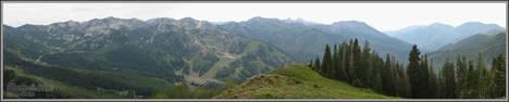 Big Cottonwood Canyon Panorama - Canon D20