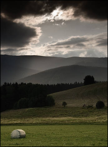 Evening landscape (Jeseniky Mountains)