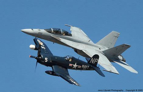 A US Navy Legacy Flight
