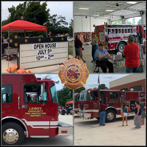 Leroy FD Open House 2014