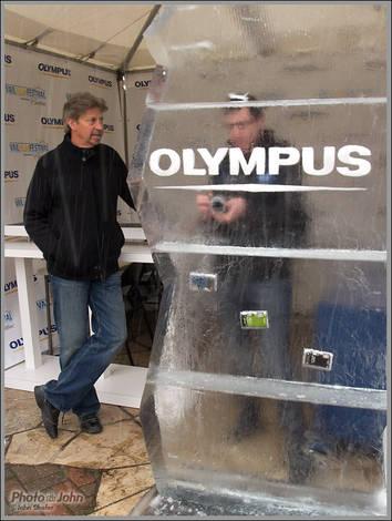 Olympus Booth - Vail Film Festival.