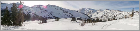 Alta Ski Resort Panorama - Samsung Galaxy Camera