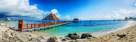 Beach of Cancun