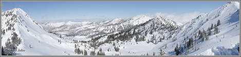 Catherine's Bowl Panoramic - Alta, Utah