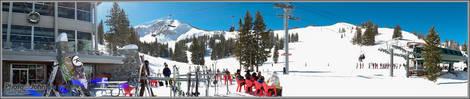Alta, Utah Panorama - Fujifilm X10