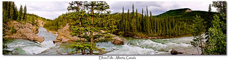 Elbow River Panoramic