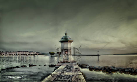 Lighthouse(s) on Lake of Geneve - Geneva Switzerland