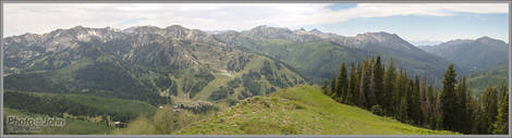 Wasatch Crest Panorama