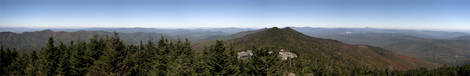 mt. mitchell in NC