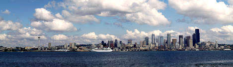 Seattle Summertime Panoramic