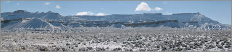 Gooseberry Mesa With Snow