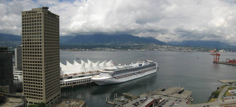 Vancouver waterfront panorama