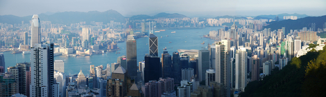 Victoria Harbour from The Peak