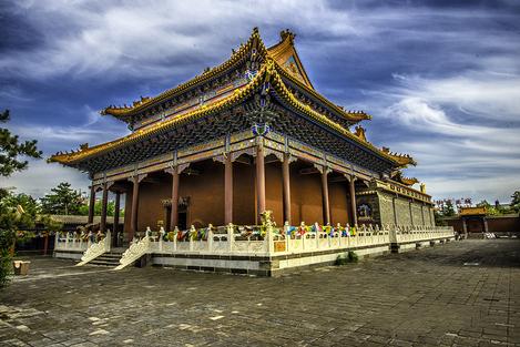 Tibetan Temple in Xining China