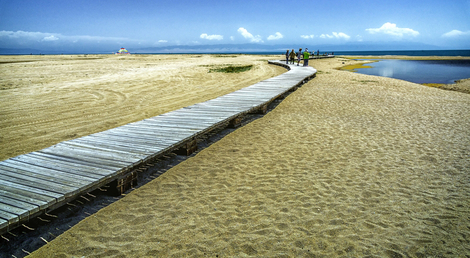 Qinghai Lake Broad walk - Repost