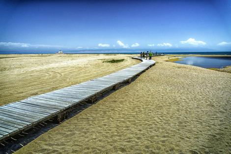 Qinghai Lake Broad walk