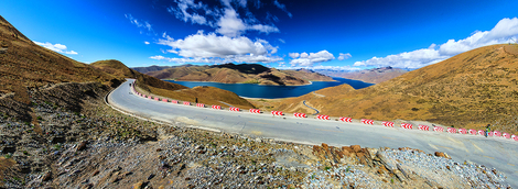 Yamdrok Lake Tibet China