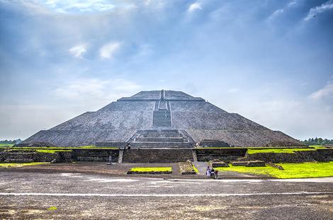 Temple of Sun Mexico City