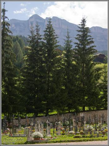Cemetery - San Linert, Italy