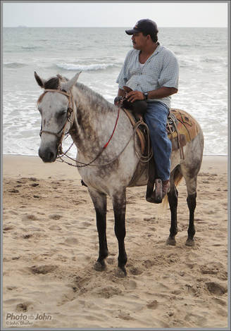 Mazatlan Beach Cowboy