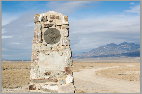 Pony Express Marker