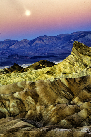 Zabriskie Point ~ Death Valey Dawn