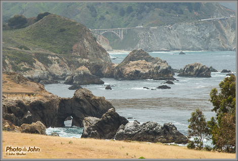Two Bridges - Big Sur Coast